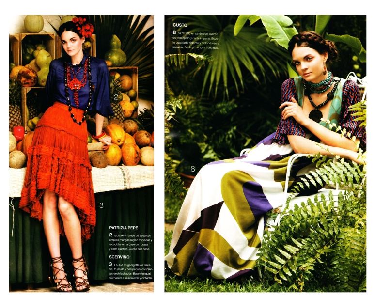 Frida Kahlo Inspired Patterns and Styling