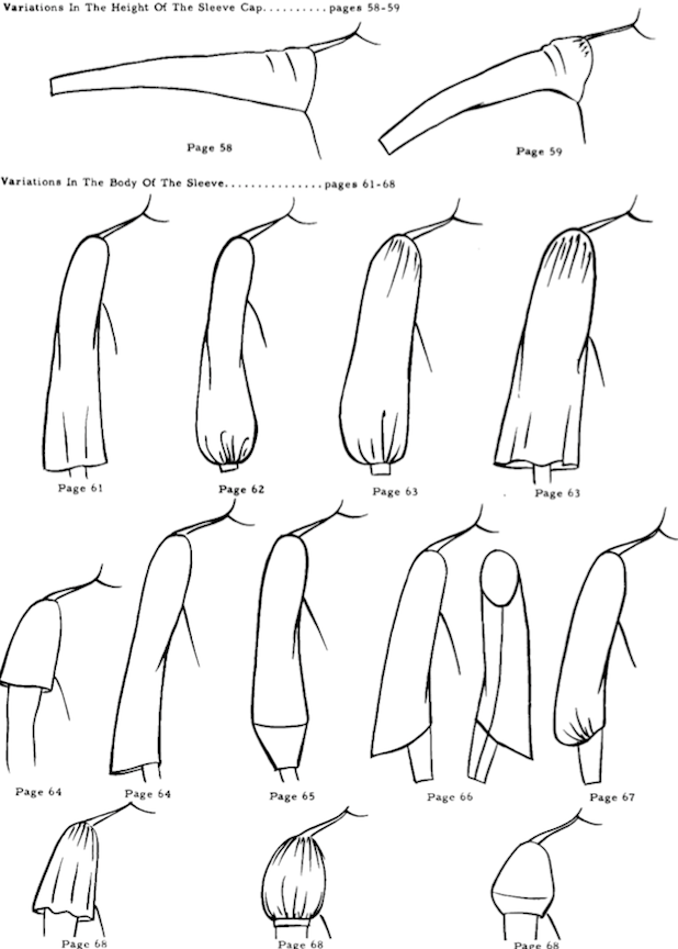 Sleeve variations